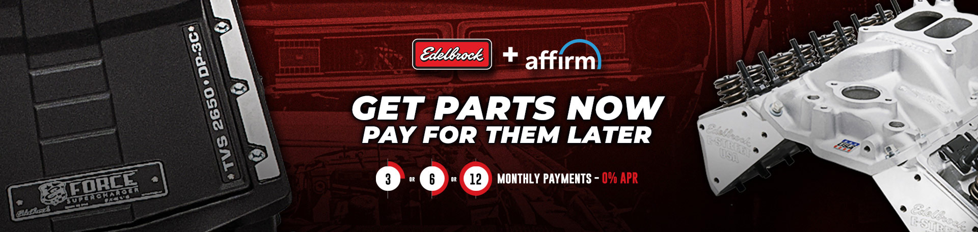 Split your purchase into 3, 6, or 12 monthly payments with 0% APR - Affirm