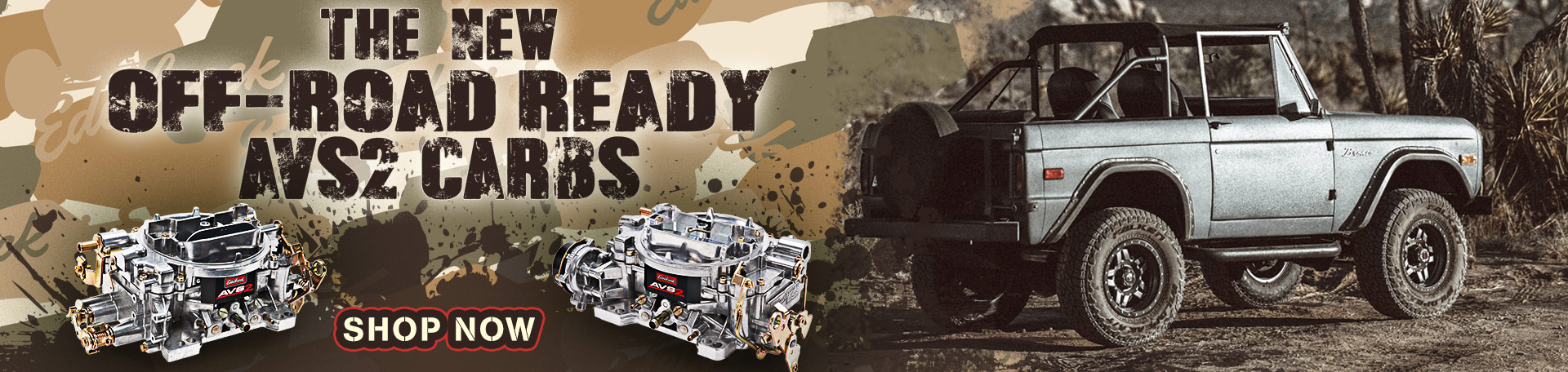 Edelbrock AVS2 Off-Road Carburetors - Learn More!