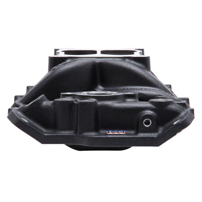 Edelbrock 26013 Performer Series Air-Gap Intake Manifold Non-EGR Idle-5500 rpm Black Finish Performer Series Air-Gap Intake Manifold