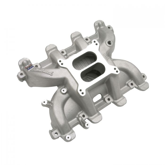 Edelbrock 711871 Performer RPM LS1 Intake Manifold Non-EGR 1500-6500rpm Allows Use of Carb Manifold OnlyChevy LS1//LS6//LM7//LR4//LQ4 Street//Hi Perf Use Only Polished Performer RPM LS1 Intake Manifold