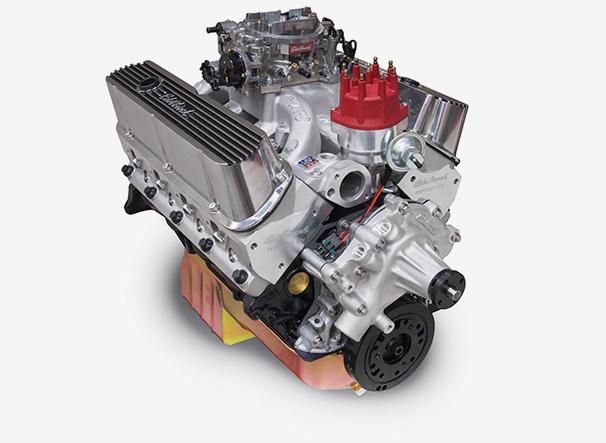 Edelbrock High Performance Carbureted Crate Engines