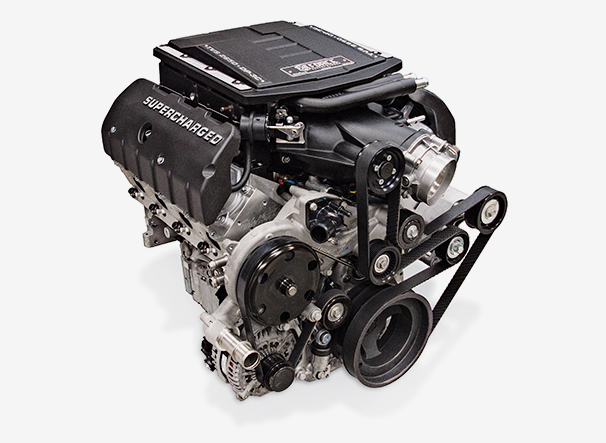 Edelbrock Supercharged High Performance Crate Engines