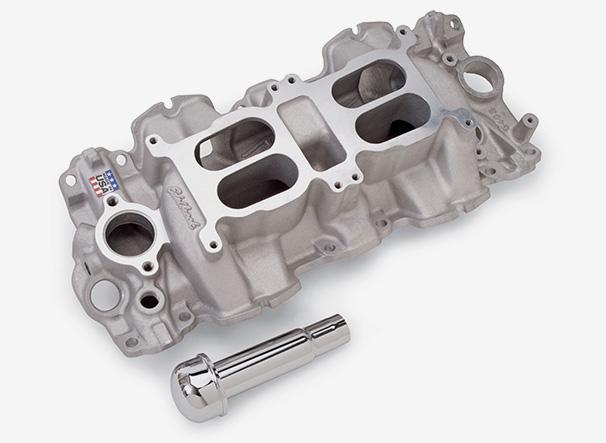 Edelbrock Dual-Quad / Multi-Carb Intake Manifolds
