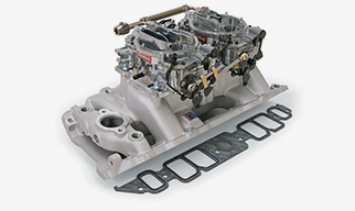 Edelbrock Intake Manifold and carb Kits