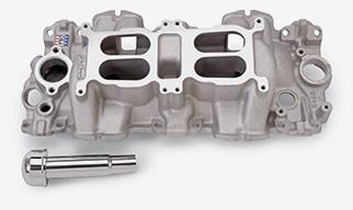 Edelbrock Dual-Quad/Multi-Carb Intake Manifolds