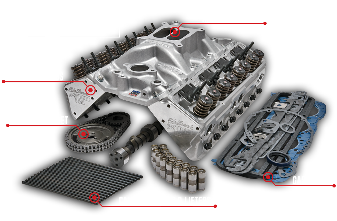 Edelbrock Power Package Top End Kit Guide