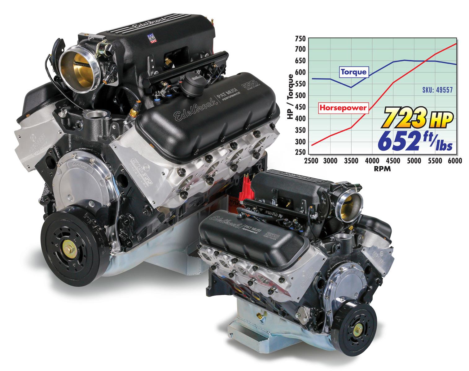 Edelbrock-Musi 555 Crate Engine
