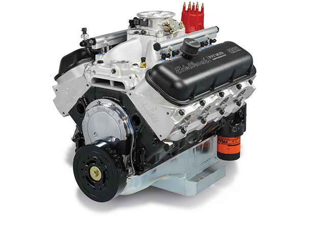 Edelbrock/MUSI 555 Pro-Flo 4 Crate Engine
