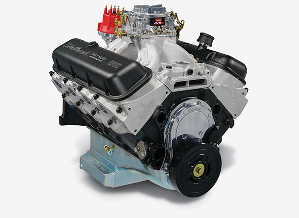 Edelbrock/MUSI 555 Carbureted Crate Engine