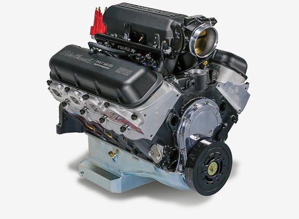 Edelbrock/MUSI 555 Pro-Flo 4 XT Crate Engine