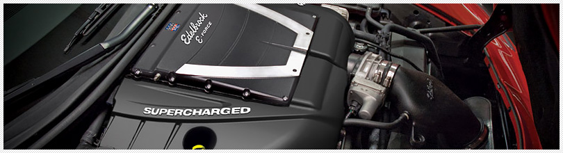 Edelbrock E-Force Supercharger Systems